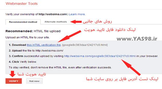 آموزش گوگل مستر